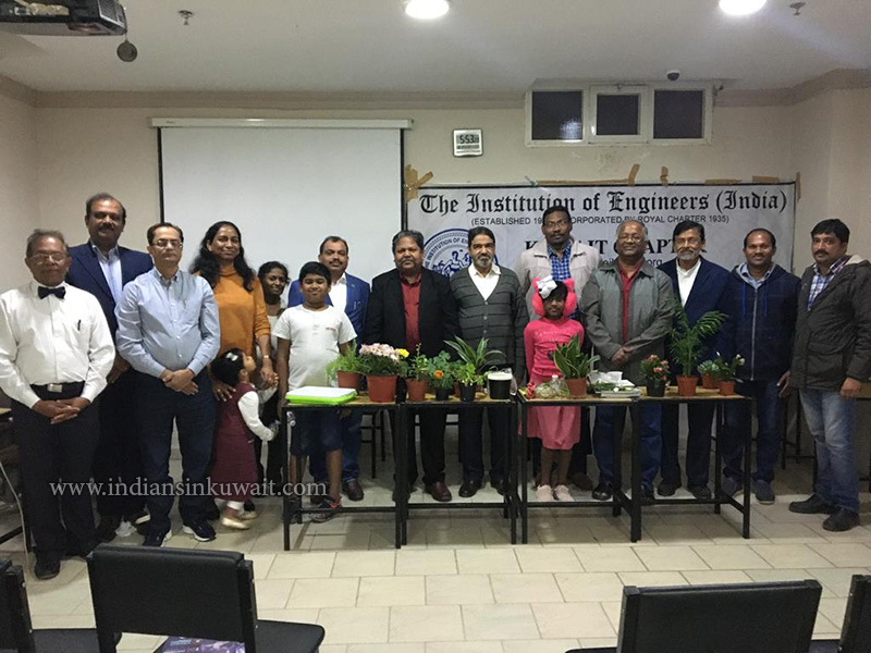 The Institution of Engineers (India), Kuwait Chapter Hosted Science Innovation Program -2019