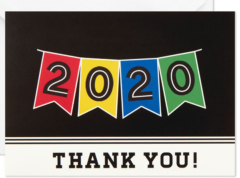 Thank you 2020