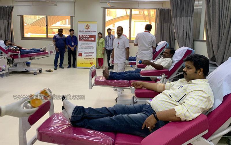 Blood Donation Camp by Billava Sangha Kuwait – 2019