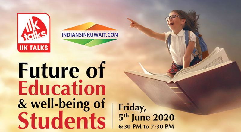 IIK Talks - Address your Queries and Concerns on your child education in 'new normal' way of life during Covid-19
