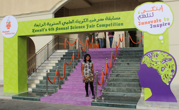 The Quest for the Science Wizards of Kuwait ; My Kaleidoscopic Experience at Kuwait Science Fair 2012
