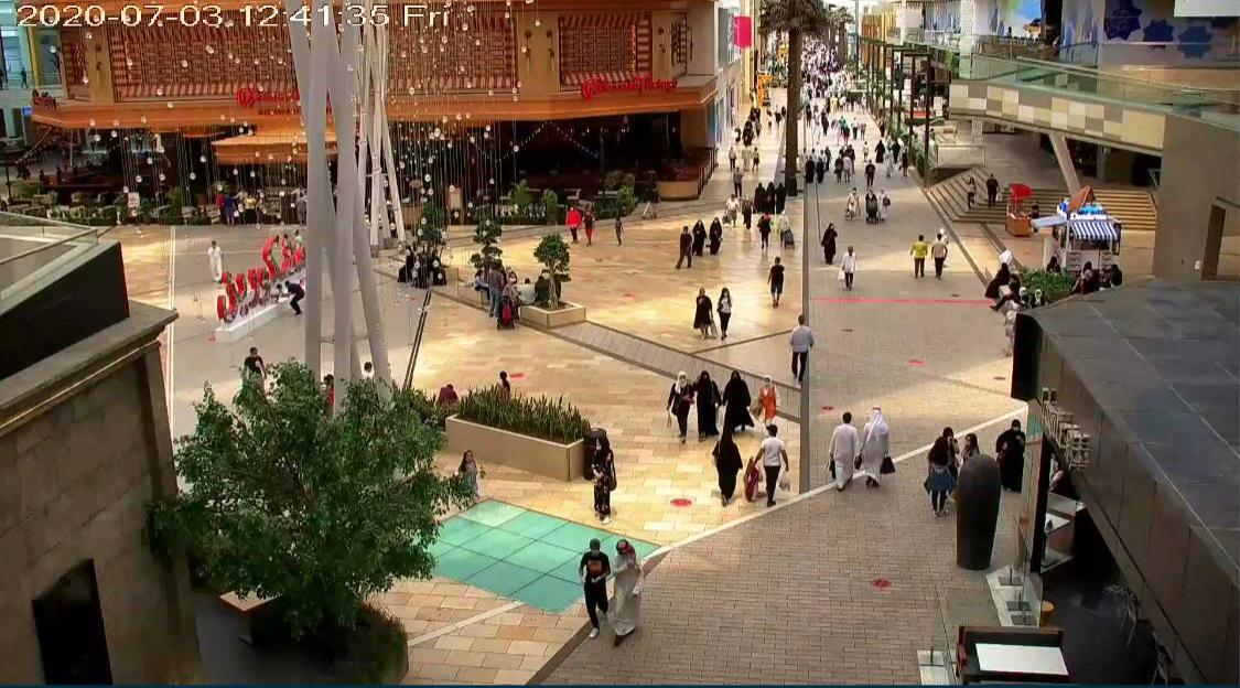 Municipality temporarily closes shops in Avenues Mall to control the crowd