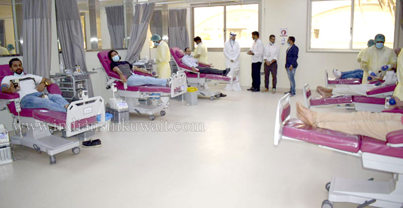 Indian Social Forum (ISF), Blood Camp: Exemplary Response from Expats