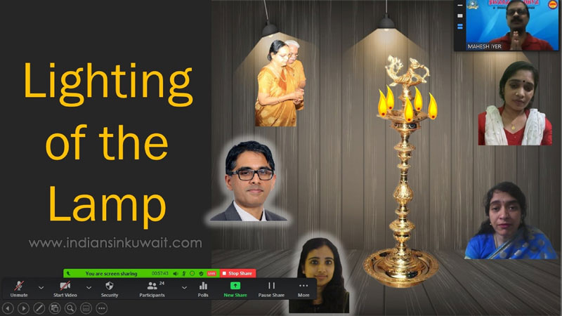 Bhavans Kuwait celebrates New Year with 'Swarasandhya - edition 9
