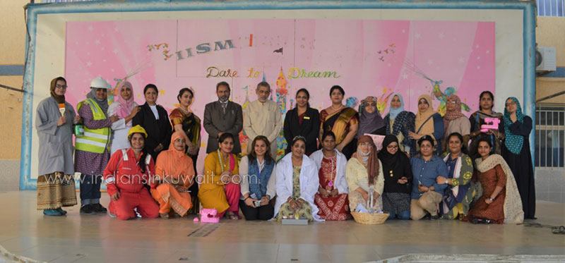 Community helpers of IISM ready to fly