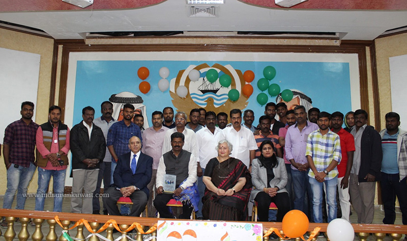 Employees of Maha Star Transport Company Organized Felicitation Function to Dr. Sami P. Venkat