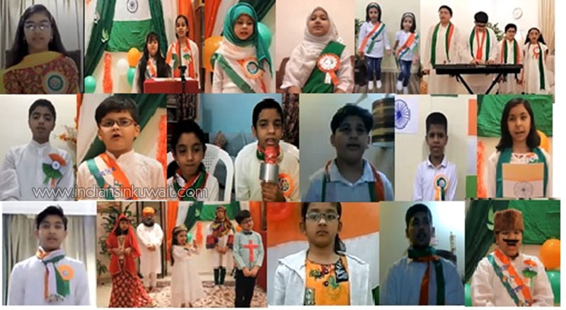 Virtual Independence Day Celebration by UP NRI FORUM Kuwait