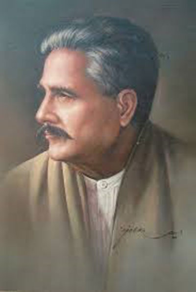 Dr Sir  Allama Muhammad Iqbal a great Poet, Philosopher and thinker on 9th November