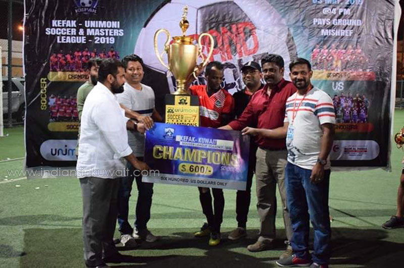 Shifa Al Jezeera Soccer Kerala FC  Emerged as Champions in KEFAK for the Fourth Time in Seven Seasons