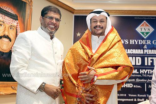 TVS HYDER Group and Islamiya Kalachaara Peravai (IKP) organized a Grand Iftar party