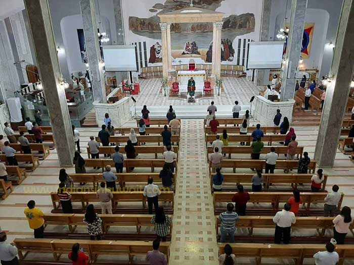 Holy Family Cathedral in Kuwait re-opens after five months of lockdown