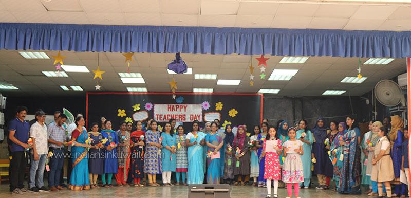 ICSK Junior celebrated Teacher's Day