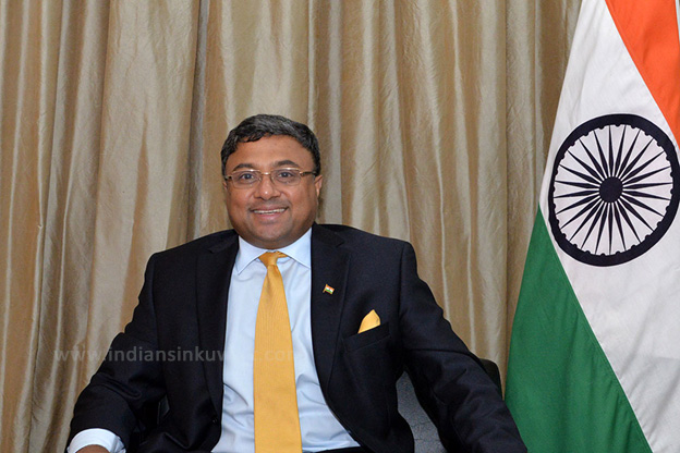 """Kuwait is our vital partner"" - Interview with Indian Ambassador Sibi George"