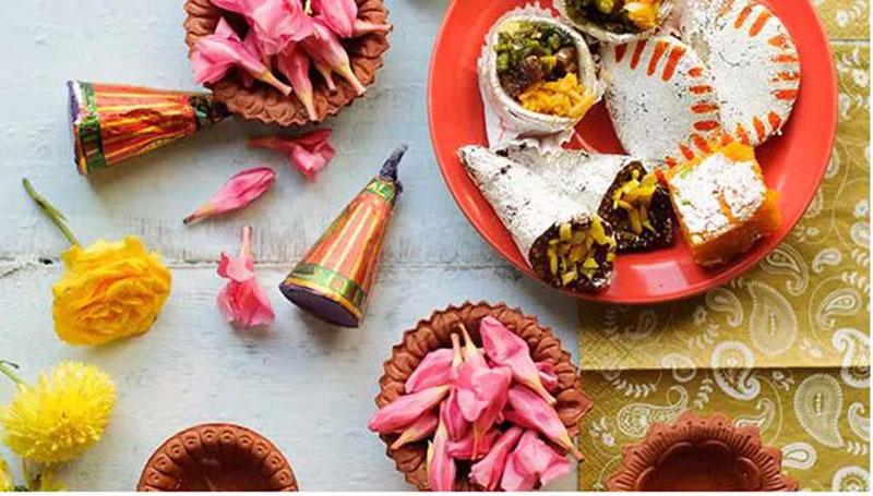 Significance  Of  Diyas , Lanterns , Rangoli And Sweets During Diwali.