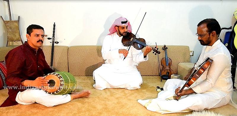 IndiansinKuwait com - Kuwaiti Violinist Creates Waves among